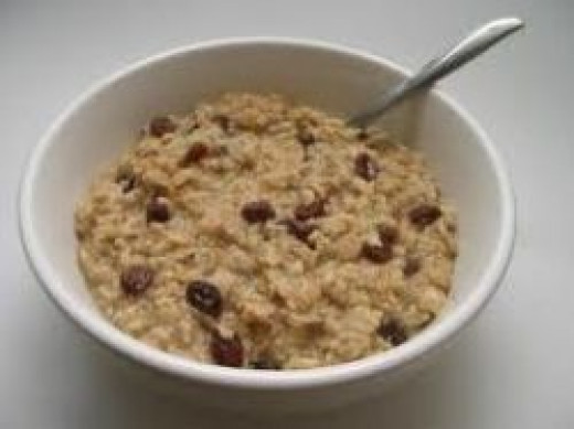 oatmeal, healthy eating, eating on a budget, vegetarian, fiber