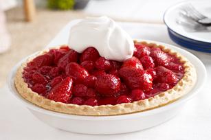 Glazed Berry Pie