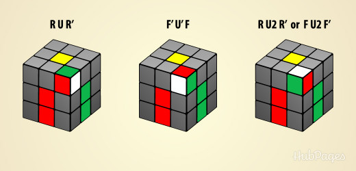 how to solve yellow corners