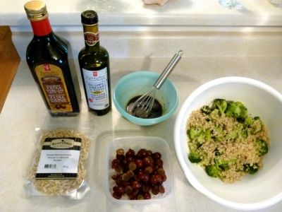 The Salad Ingredients.