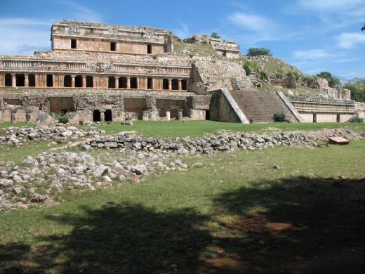 Main structure at Sayil