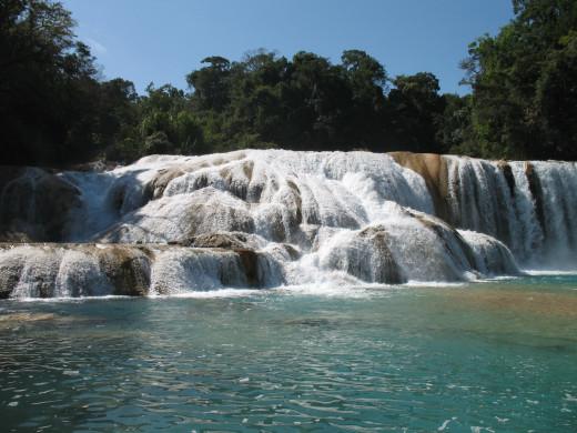 The falls of Agua Azul