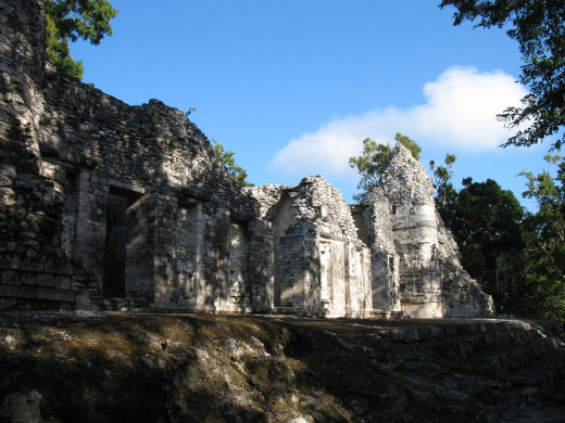 Another structure at Chicaná