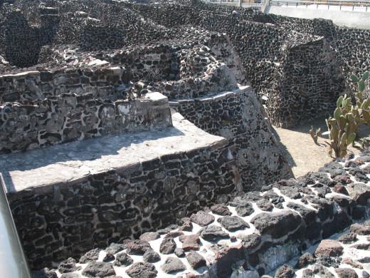 Outside walls of Tenochtitlan 2007