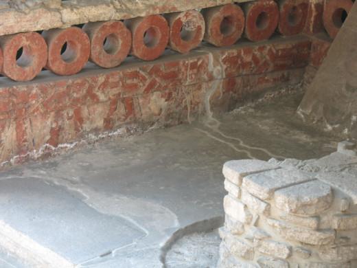 Interior wall of Tenochtitlan 2007