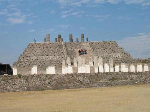 Pyramid of the giants at Tula