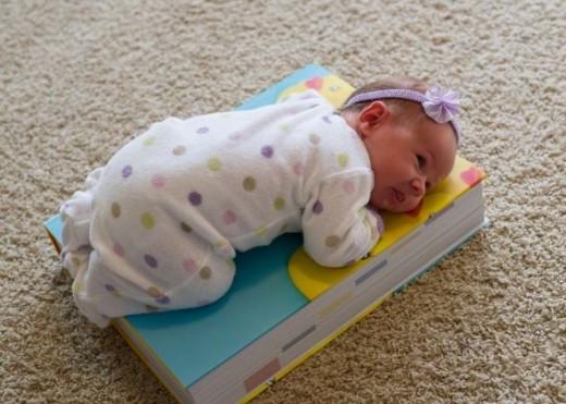 Real book, real baby