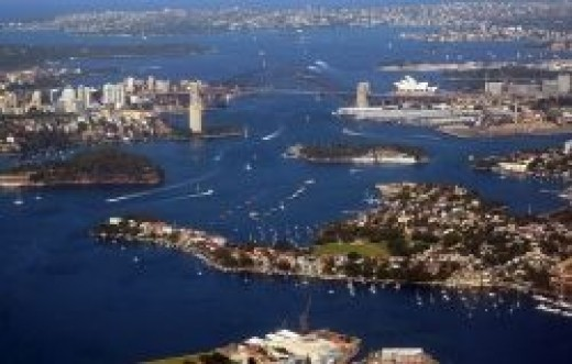 Sydney Harbour Today