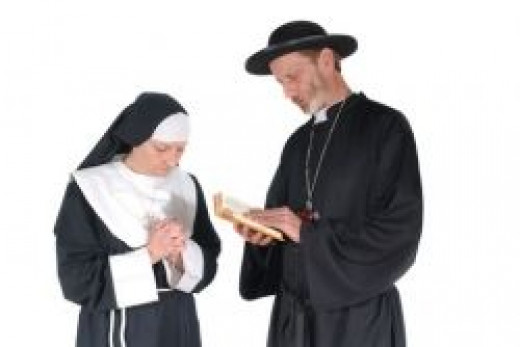 nun and priest