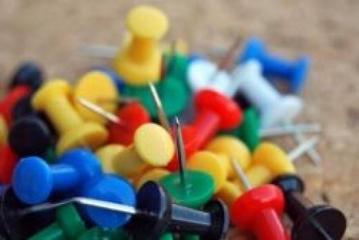 Plastic Pins