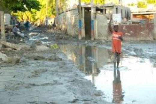 Devastation in Haiti