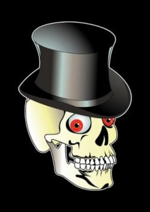 Death wears a Top Hat