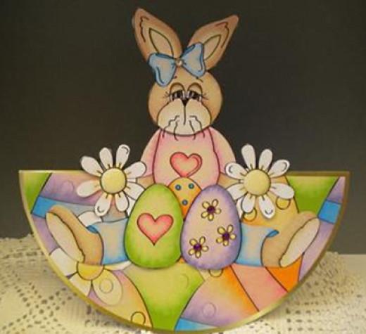 Printable Easter Bunny Card