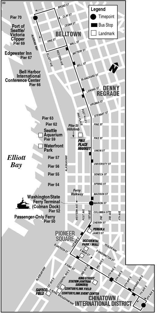 Metro Bus Route 99