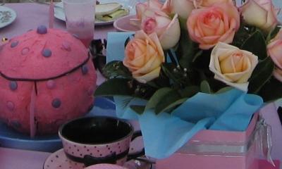 Sweet 16 tea party idea