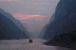 Dusk on the Yangtze River
