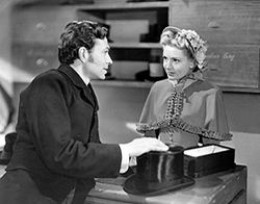 With James Mason in Hatter's Castle in 1942
