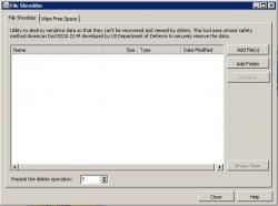 Glary Utilities File Shredder software