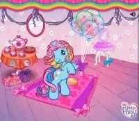 Rainbow Dash's Glamorous Tea Party