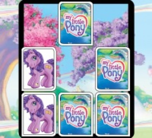 My Little Pony Match Up Game