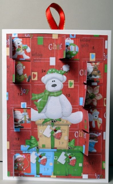 Christmas Teddy Advent Calendar