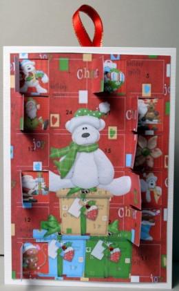 Christmas Teddy Advent Calendar