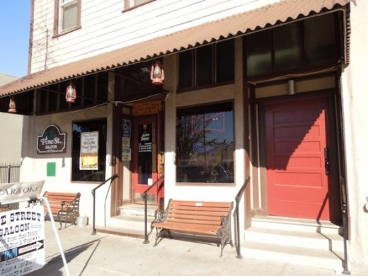 The Pine Street Saloon is one of the most historic false-front  buildings in Paso Robles. It was initially the luxurious Cosmopolitan Hotel before1887. Its  two stories have been the home for many different businesses over the years.