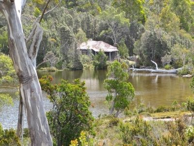 Secluded Twilight Tarn hut