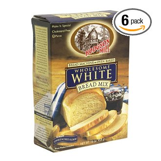 white bread mix