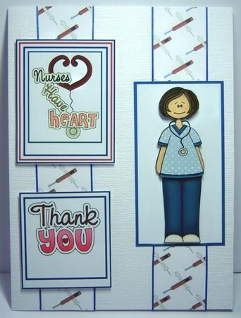 Printable Nurse Thank You Cards