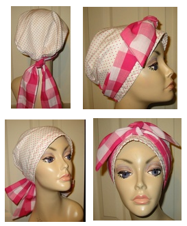 chemo scarf with extra long ties