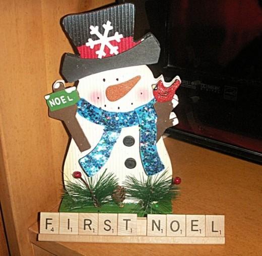 Scrabble First Noel
