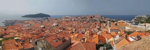 Homes of Dubrovnik, Croatia