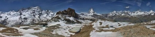 Zermatt, Switzerland - Very Popular Hiking and Skiing