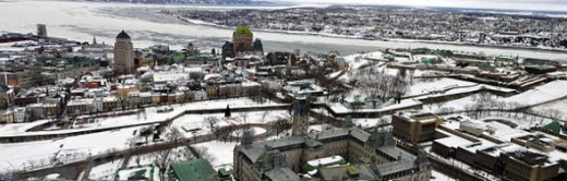 Quebec City, Canada - View from the Observatory