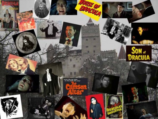 Dracula Collage