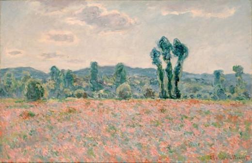 Monet - Poppy Field