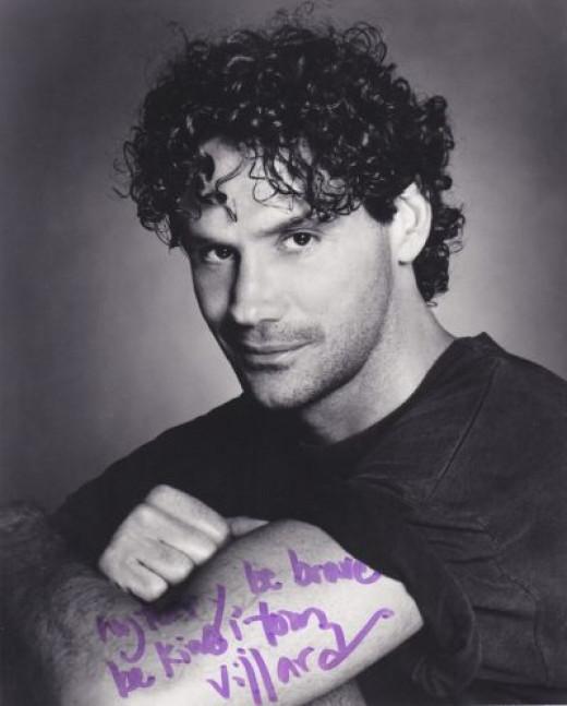 Signed Photo Sent to Me by Tom Villard (1953-1994)
