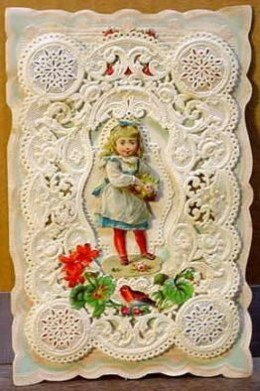 1887 Valentine Attributed to Charles Whitney of Worcester, Massachusetts