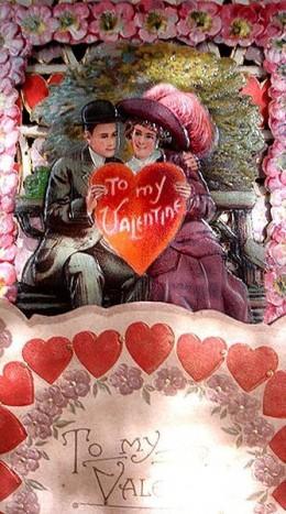 1900 3D Foldout Valentine