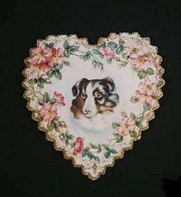 Early 1900's Dog Valentine Card