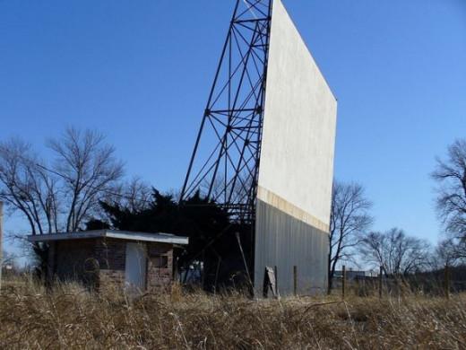 Abandoned Drive-In near Sapulpa, Oklahoma