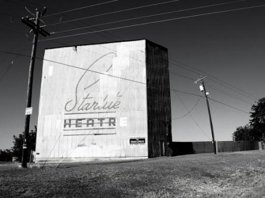 Starlite Drive In Brenham, Texas
