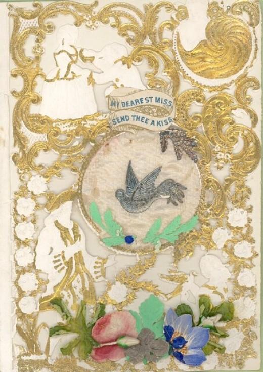 1910 Valentine My Dearest Miss