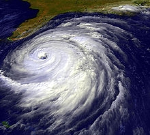 Hurricane Floyd from Space