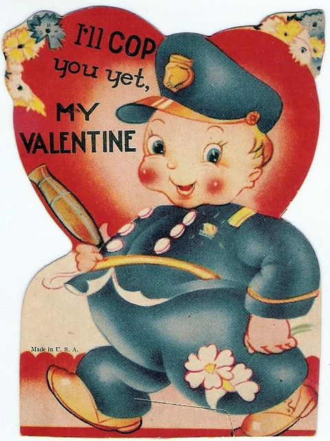 1930's Policeman Valentine