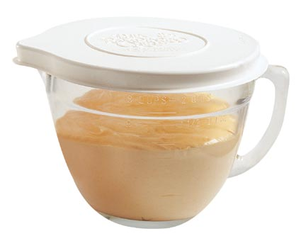 Classic Batter Bowl  -mix  -measure  -serve  -even BAKE a cake in the microwave!