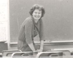 Mrs. Hart in Her Classroom