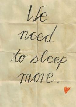 Sleeping an extra hour burns 6% extra calories!