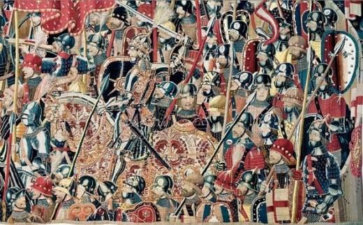 Passchier Grenier - 'Assault on Asilah' - Ca. 1470